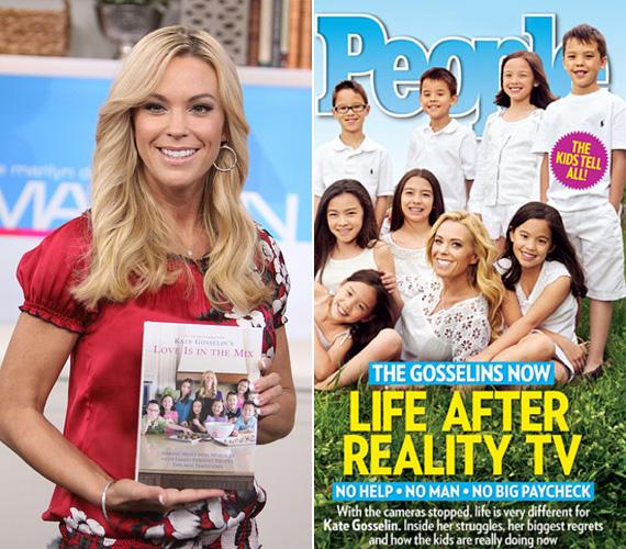 8. Kate Gosselin: a Jon, Kate és 8 gyerek című reality főszereplő édesanyja azzal hívta fel magára a figyelmet, hogy összeveszett a párjával - nem bírták eldönteni, hogy a tévében való szereplés árt-e a gyerekeiknek, vagy sem. Még a válás híre is felröppent, de állítólag októberben kibékültek, jövőre pedig Kate a Celebrity Apprentice valóságshow-ban tér vissza a képernyőre.