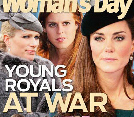 A lapok szerették túldramatizálni a helyzetet, és úgy beállítani, mintha a hercegnők riválisai lennének egymásnak.