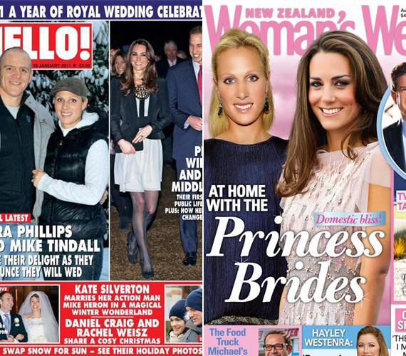 II. Erzsébet királynő unokáját mindig összehasonlítgatták Katalin hercegnővel.