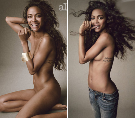 A júniusban megjelenő Allure magazin számára készített fotókon teljesen felszabadult a 34 éves színésznő.